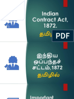 Indian Contract Act in Tamil