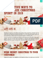 04 Creative Ways to Revitalize Christmas Spirit in 2019