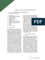 [9783110197136 - Volume 1] 1a. Phraseologie Objektbereich Terminologie und Forschungsschwerpunkte