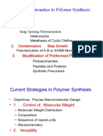 Ch5 General Polymer Synthesis