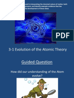 GO 3_1 Evolution of Atomic Theory