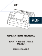 User manual  - SONEL MRU-200-GPS