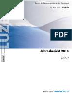 Jahresbericht 2018 Teil II