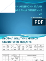 Lokalni akcioni plan za zapošljavanje - Opština Ub