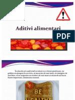 Aditivi Alimentari Ppt
