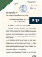 La Fiscalía pide que se mantengan las euroórdenes contra Puigdemont y Comín