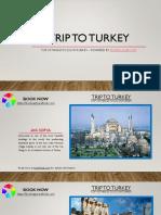 Trip to Turkey Using Travel Guide Travellclub.com