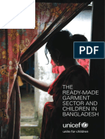 THE READYMADE GARMENT SECTOR AND CHILDREN IN BANGLADESH