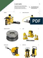 Hydraulic Cylinders, Jacks, Rams _ Enerpac