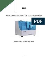 Manual Electroforeza Automata SAIO- romana