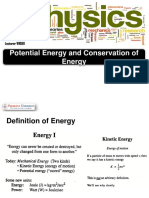 W10&11_Potential Energy and Conservation  of Energy Rev B