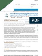 CO2 to methanol-Single step.pdf