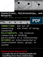 Connections, Relationships, And Networks