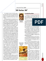 Previa de la Feria del Toro 2008, revista Panacea