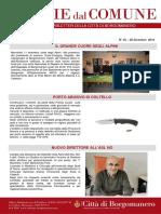 Notizie Dal Comune di Borgomanero del 22-12-2019