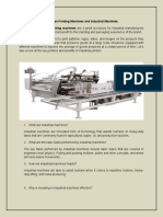 The New Take on Industrial Screen Printing Machines