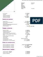 Datos Tecn VW Amarok 2Hx 20D BiTDI CR 2010 13 Código de Motor CDCA 1