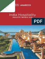 HVS - HVS-Anarock-India-Hospitality-Industry-Review-2018