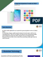 Top 10 Mobile App Development Trends in 2020