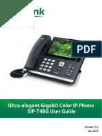 Sip-T48G User Guide