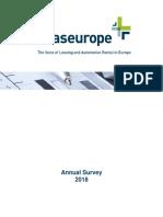 European Leasing Market 2018