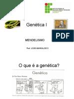 genetica - primeira e segunda lei de mendel