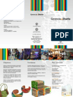 Plegable Promo Gerencia 2011