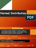 Class 3 -Normal Distribution