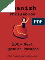 500 Real Spanish Phrasebook
