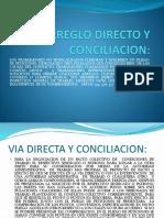 ARREGLO DIRECTO Y TRIBUNAL DE CONCILIACION