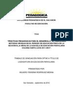 PRÁCTICAS PEDAGÓGICAS PARA EL DESARROLLO DE HABILIDADES