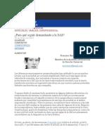 ANÁLISIS JURISPRUDENCIAL_para Que Seguir Demandando Al SAS