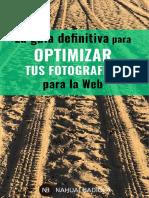 optimizar fotografía
