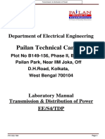 t&d Lab Manual 4th Sem Ee