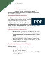 simple logistics questions