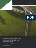 OpenScape Desk Phone CP600 SIP, Instrucciones de manejo.pdf