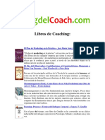 Bibliografia sobre Coaching -        Blog del Coach