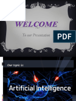 Artificial intiligence PPT