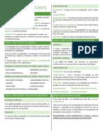 Resumo constitucional verde