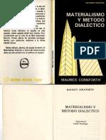 CORNFORTH, Maurice...Materialismo y Metodo Dialéctico.pdf