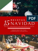 15 Recetas de Navidad _ AnaCocinitas - TeresaVivancos