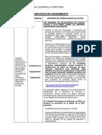 e) Tipología de Proyecto_Saneamiento