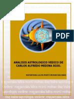 ANALISIS ASTROLOGICO VEDICO DE CARLOS ALFREDO MEDINA SOJO