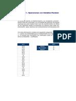 Ejercicio No 7 Operacion Variables Aleatorias Tiempo Actividad.xls