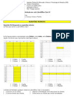 Atividade LibreOffice Calc 01
