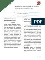 La Importancia de Implementar Una Norma Voluntaria - Iso 14001 en Una Empresa de Interventoria de Obras Civiles