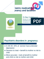 Psychiatric Medications in Pregnancy and Lactation