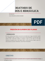 PRESION EN SUPERFICIES PLANAS