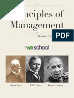 Principle of management