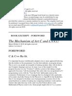 Mechanism of Art c Cpp17 Book Sample